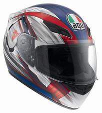 CASCO AGV K-4 EVO HANG-ON BLANCO/ROJO/AZUL talla XL