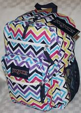 JANSPORT BIG STUDENT BOOK BAG BACKPACK 100% AUTHENTIC NWT  BACK TO SCHOOL ASSRTD
