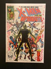 X-Men & The Micronauts 1 High Grade Marvel Comic Book CL54-318