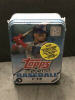 💎🔥2021 Topps Series 1 MLB Baseball Tin Trading Cards - FREE SHIP💎🔥