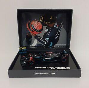 Model Car Scale 1:43 MINICHAMPS F1 Mercedes AMG Hamilton Eifel 2020 Diecast