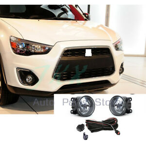 Fog Lights, Harness, Switch Kit for Mitsubishi Outlander Sport ASX RVR 2007-2020