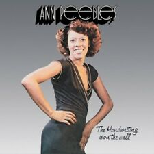 ANN PEEBLES - THE HANDWRITING IS ON THE WALL  CD  10 TRACKS POP/SOUL  NEW+