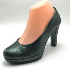 Ilse Jacobsen Womens Pumps Heels Dark Green Italy 37 7 US