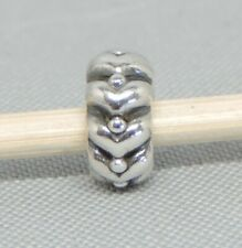 Authentic Pandora Heart Beats Spacer/Charm/Bead Silver 925 ALE 790450