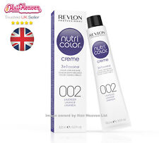 Revlon Professional Nutri Color Creme 002 Lavender 100ml TUBE 3 in 1 Colour