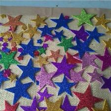60Pcs Foam Stars Sticker Kids Eva Diy Kindergarten Wall Decoration Art Craft Q
