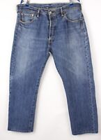 Levi's Strauss & Co Hommes 501 Jeans Jambe Droite Taille W38 L28 BBZ661