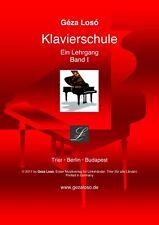 Loso Klavierschule - Ein Lehrgang - Band 1 - Notenbuch + Video lim. Angebot BLUE