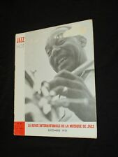 MAGAZINE JAZZ HOT N° 61  Decembre 1951 - ZUTTY SINGLETON
