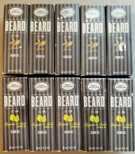 10 Bottles! - The Art of Shaving - Beard Oil - Bourbon, Bergamot & Neroli