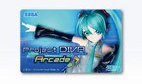 NEW Hatsune Miku Project Diva Arcade Initial Design Aime Card JAPAN Japanese