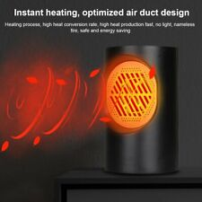 400W Space Heater Electric Radiator Portable Energy Saving Efficient Heater Us