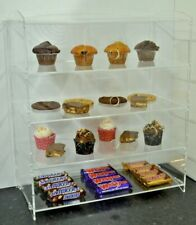 More details for acrylic bakery pastries cake confectionery sweet perspex® display sales cabinet