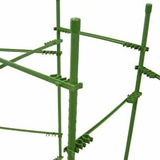 Climbing Trellis Garden Tomato Vine Net Support Expandable Connectors Rod Stand