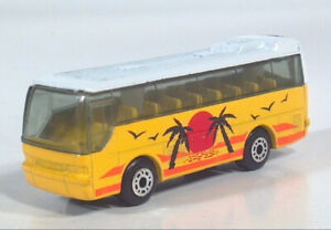 Matchbox Ikarus Coach Tropical Paradise Palm Trees 1:140 Diecast Scale Model Bus