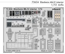 Eduard PE 73634 1/72 Bristol Blenheim mk. IV INTERIORE AIRFIX