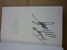 The New Reagan Revolution - Signed by Michael Reagan!