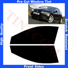 Pre Cut Window Tint Honda Civic 3Doors Hatchback 2007-2011 Front Sides Any Shade