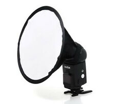 Round Flash Softbox Diffuser for Canon 580EX 580EXII 430EXII 430EX 420EX 540EX