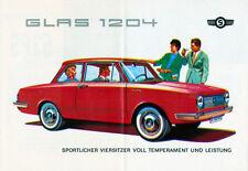 Glas - 1204 - S 1004 - S 1204 -  Prospekt  - 1962  -  Deutsch - nl-Versandhandel