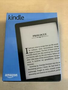 """New White Amazon Kindle 8th generation 4GB Daytime Readable 6"""" w Special offers"""