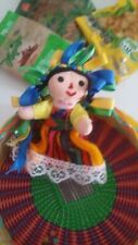 Genuine muneca de amealco doll from Mexico City