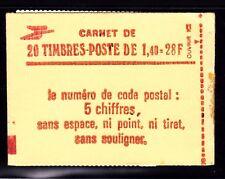 FRANCE CARNET 2102-C7 ** MNH carnet refermé, conf. N° 8, cote: 22  €  (L2)