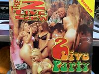 "THE 2 LIVE CREW 2 LIVE PARTY FT KC & THE SUNSHINE BAND 12"" 1998 LJR897 DJ PROMO"