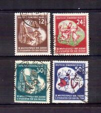 GERMANY DDR 1951 World Youth Festival used