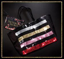 BNWT Victoria's Secret Large Sequin Tote And Mini Bag