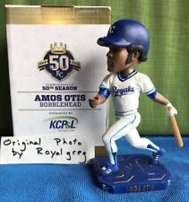 "Kansas City Royals, Amos Otis ""AO"" Bobblehead, SGA 7/21/18, Insured Shipping !"