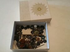 009 Vintage Lady Buxton Box Wallet or Watch With Buttons Lot.
