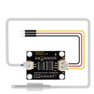 KEYESTUDIO TDS Water Quality Meter Tester Total Dissolved Solids Test Sensor