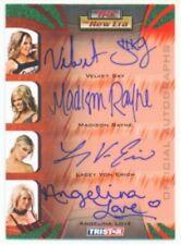 "VELVET SKY LOVE LACEY RAYNE ""AUTOGRAPH CARD #21/25"" TNA NEW ERA"