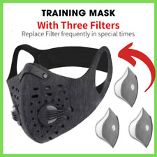 Running Mask Cardio Fitness Workout Respirator With Filter Cycling Training Mask