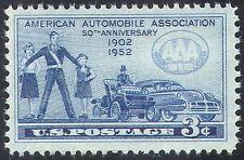 USA 1952 AAA/Automobile Association/Cars/Transport/Motors/Automobiles 1v n24370