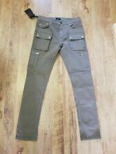 BNWT Belstaff Fremont Grey Skinny Denim Jeans W 31 L 33