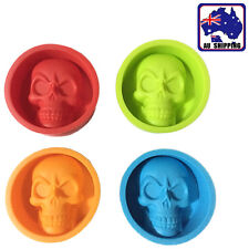 Silicone Mold Cake Decorating Ghost Skull Muffin Pudding Fondant Mould HKIM23801