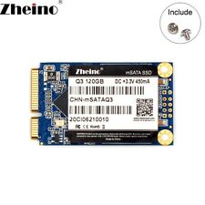 Zheino SSD msata 120gb TLC Internal Solid State Drive Disk
