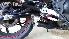FULL EXHAUST Ixil Dual Hyperlow Marmitta Echappement Kawasaki ER6N ER 6F 2012 >