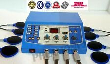 New Electrotherapy Interferential Physical Therapy 4 Channel Equipment