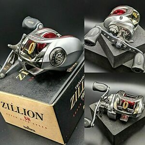 TEAM DAIWA【ZILLION 100SH】USED Baitcasting Reel R-H EXPEDITED SHIPPING From JAPAN