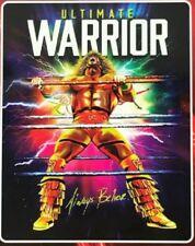 New LICENSED The Ultimate Warrior SOFT Plush Gift Throw Blanket WWE Wrestler NIP