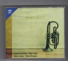 (HW956) Just Jazz, 80 tracks various artists - 2005 CD set