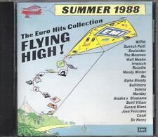 """GUESH PATTI  BALTIMORA  BETTI  VILLANI  ROXETTE - CD PROMO 1988 """" SUMMER 1988 """""""