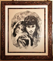 Vintage Sandu Liberman Artist Proof Signed Lithograph-Excellent condition