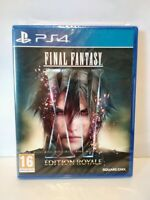 Final Fantasy XV Édition Royale - Jeu PS4 - PAL français - Neuf / New & Sealed