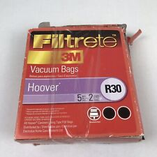 Filtrete Hoover R30 Vacuum Bag Electrolux Homecare Products 2 packs