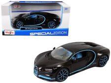 Maisto 1/24 Special Edition Bugatti Chiron 42 Edition Diecast Car Black 31514